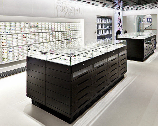 Jewelry Showcase Counter Retail Display Fixture proveedor