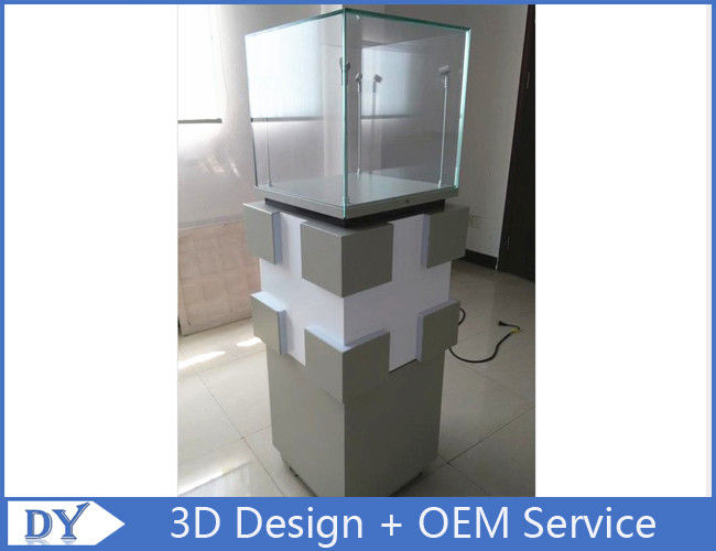 Manufacturer supplier modern simple style glass display cabinets with custom size proveedor